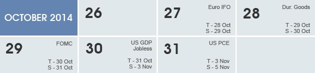 Weekly Calendar 2014