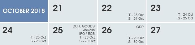 Weekly Calendar 2018